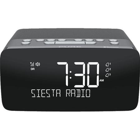 Pure Audio Siesta Charge DAB+ wekkerradio met oplaadpad