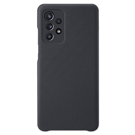 Samsung Galaxy A52 Smart S view wallet hoesje zwart