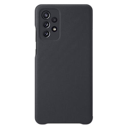 Samsung Galaxy A72 Smart S view wallet hoesje zwart