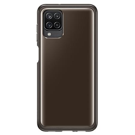 Samsung Galaxy A12 silicone hoesje zwart