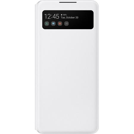 Samsung Galaxy A42 Smart S View hoesje wit