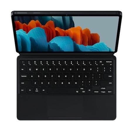 Samsung Tab S7 Book Cover Keyboard zwart