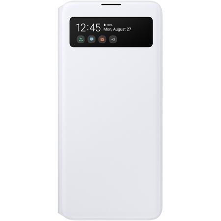 Samsung Galaxy A51 S view Wallet hoesje wit