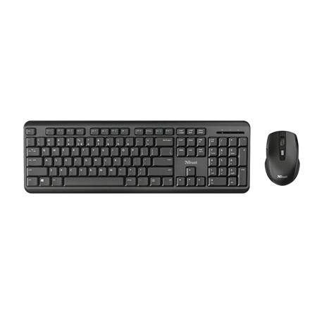 Trust Ody Draadloze toetsenbord en draadloze muisset