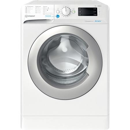 Indesit BWENL 81484X WS N wasmachine