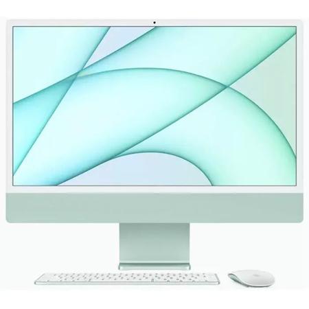 "Apple iMac 24"" (2021) MJV83N/A, M1 chip, 8GB, 256GB ssd, 7-core GPU groen"