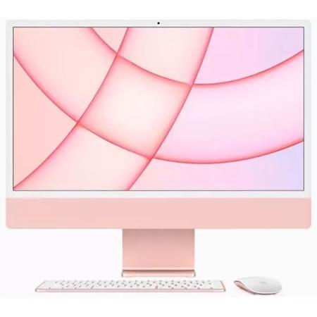 """Apple iMac 24"""" (2021) MJVA3N/A, M1 chip, 8GB, 256GB ssd, 7-core GPU roze"""
