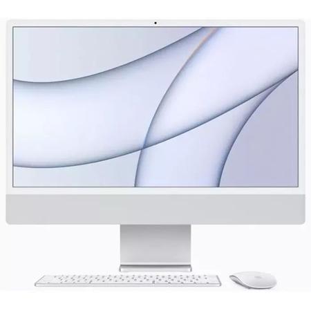 """Apple iMac 24"""" (2021) MGPD3N/A, M1 chip, 8GB, 512GB ssd, 8-core GPU zilver"""