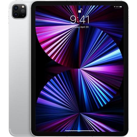 """Apple iPad Pro (2021) 11"""" Wi-Fi + 4G, 8GB ram, 128GB opslag, zilver"""
