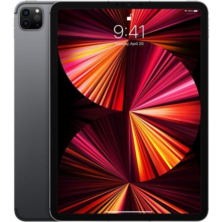 """Apple iPad Pro (2021) 11"""" Wi-Fi + 4G, 8GB ram, 128GB opslag, grijs"""