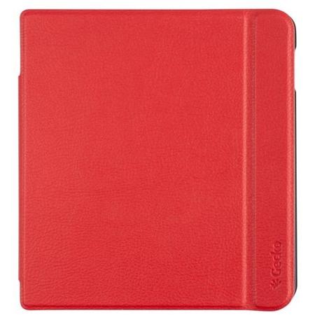 Gecko Slimfit Flip cover voor Kobo Libra H20 rood