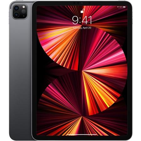 """Apple iPad Pro (2021) 11"""" Wi-Fi, 16GB ram, 2TB opslag, grijs"""