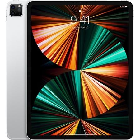 """Apple iPad Pro (2021) 12,9"""" Wi-Fi + 4G, 8GB ram, 128GB opslag, zilver"""