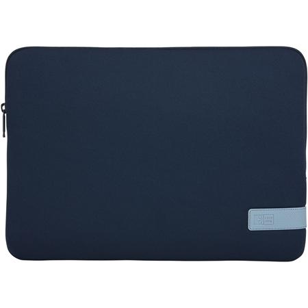 """Case Logic Reflect 14"""" laptopsleeve blauw"""