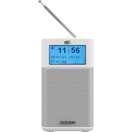 Kenwood CR-M10DAB-H Draagbare radio met DAB+ wit