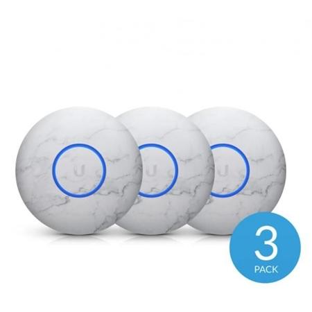 Ubiquiti UniFi U6 Lite & nanoHD cover (afdekkap) 3 stuks marble