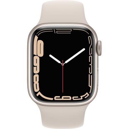 Apple Watch Series 7  beige aluminium beige sportband 41mm