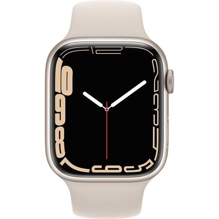 Apple Watch Series 7 beige aluminium beige sportband 45mm