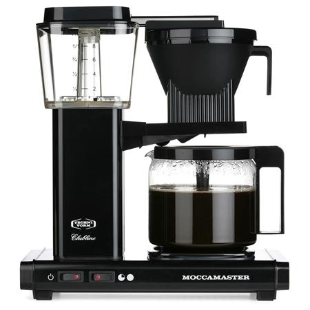 Moccamaster KBG741 AO zwart Koffiezetapparaat