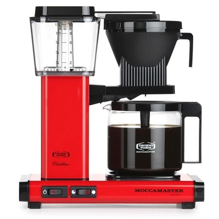 Moccamaster KBG741 AO rood Koffiezetapparaat
