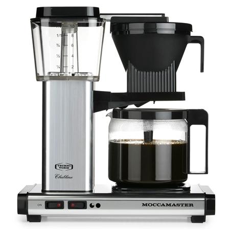 Moccamaster KBG 741 AO Brushed koffiezetapparaat