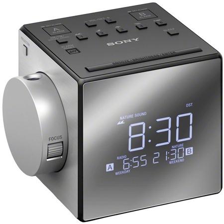 Sony ICF-C1PJ zilver Wekkerradio