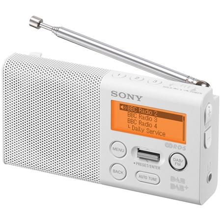 Sony XDR-P1DBPW DAB+ radio