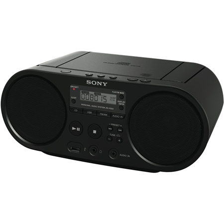 Sony ZS-PS50B zwart
