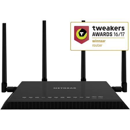 Netgear R7800-100PES zwart Router