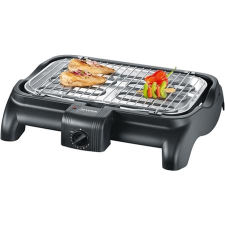Severin PG1511 zwart Barbecue