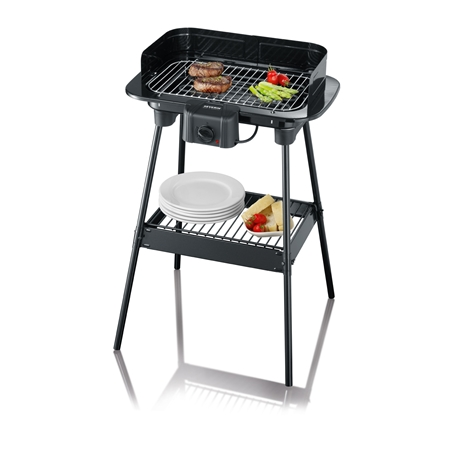 Severin PG8523 zwart Barbecue