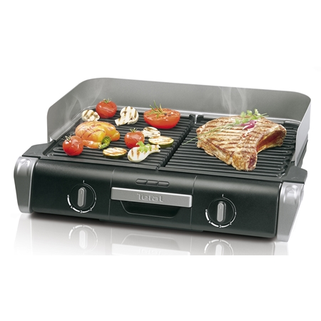 Tefal TG8000 Family Flavor Grill zwart-zilver Barbecue