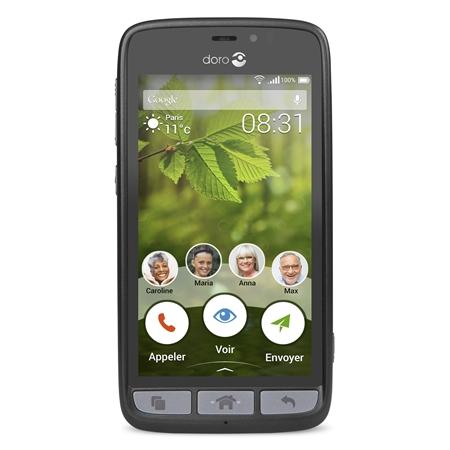 Doro 8031 Seniorentelefoon zwart