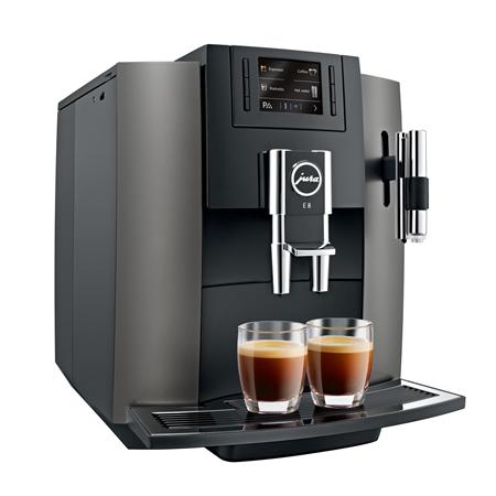 Jura E8 Dark Inox Espressomachine