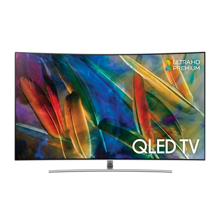 Samsung QE75Q8C Curved 4K QLED TV