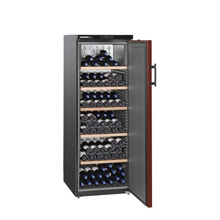 Liebherr WKr 4211-21 4211 Wijnklimaatkast Matzwart/Bordeauxrood