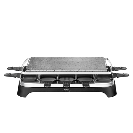 Tefal PR4578 Pierrade zwart-RVS Grill & Gourmet