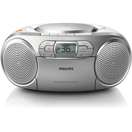 Philips AZ 127/12 zilver Tafelradio