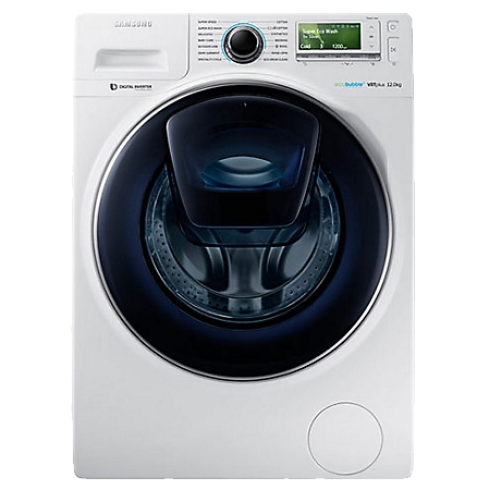 Samsung WW12K8402OW AddWash Wasmachine