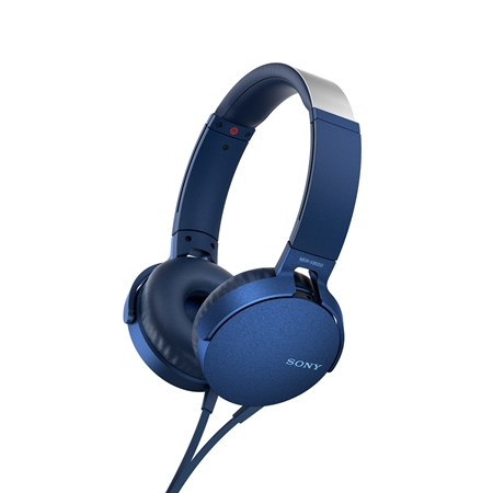 Sony MDR-XB550AP blauw