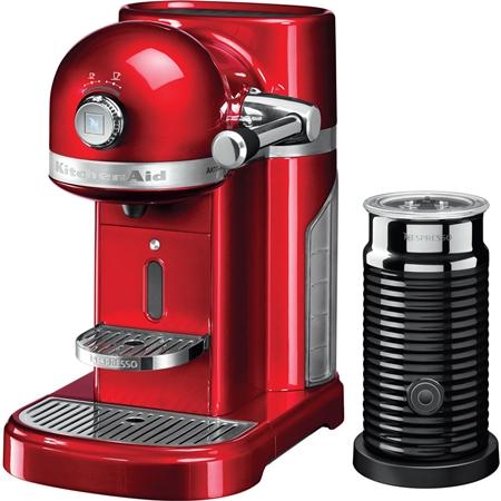 KitchenAid Artisan 5KES0504EER/3 Nespressomachine met Aeroccino Keizerrood