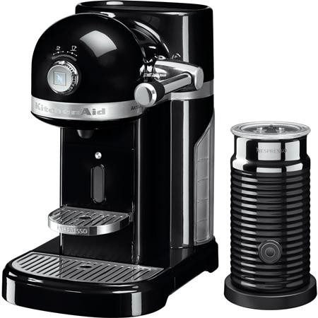 KitchenAid Artisan 5KES0504EOB/3 Nespressomachine met Aeroccino Onyx zwart