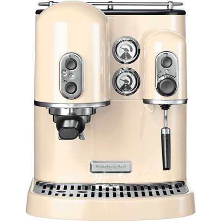 KitchenAid Artisan 5KES2102EAC Espressomachine Amandelwit
