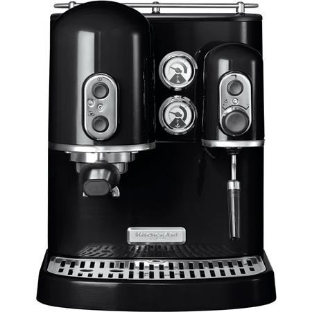 KitchenAid Artisan 5KES2102EOB Espressomachine Onyx zwart