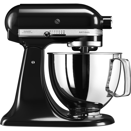 Artisan Mixer-Keukenrobot 5KSM125EOB Onyx zwart
