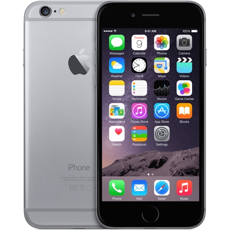 Apple iPhone 6 16GB Zwart/Space grey (Refurbished A)