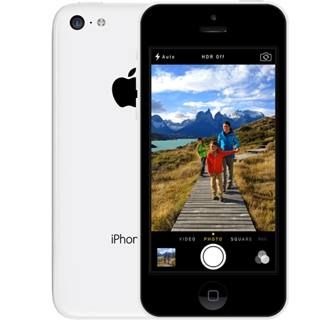 Apple iPhone 5C 32GB Wit (Refurbished A)