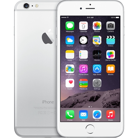 Apple iPhone 6 16GB Wit/Silver (Refurbished A)
