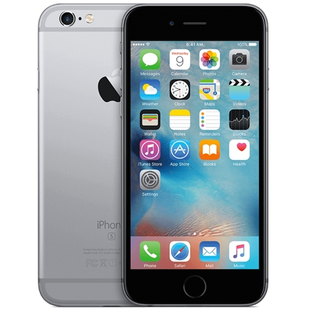 Apple iPhone 6S 64GB Zwart/Space grey (Refurbished A)