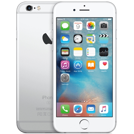 Apple iPhone 6S 16GB Wit/Silver (Refurbished A)